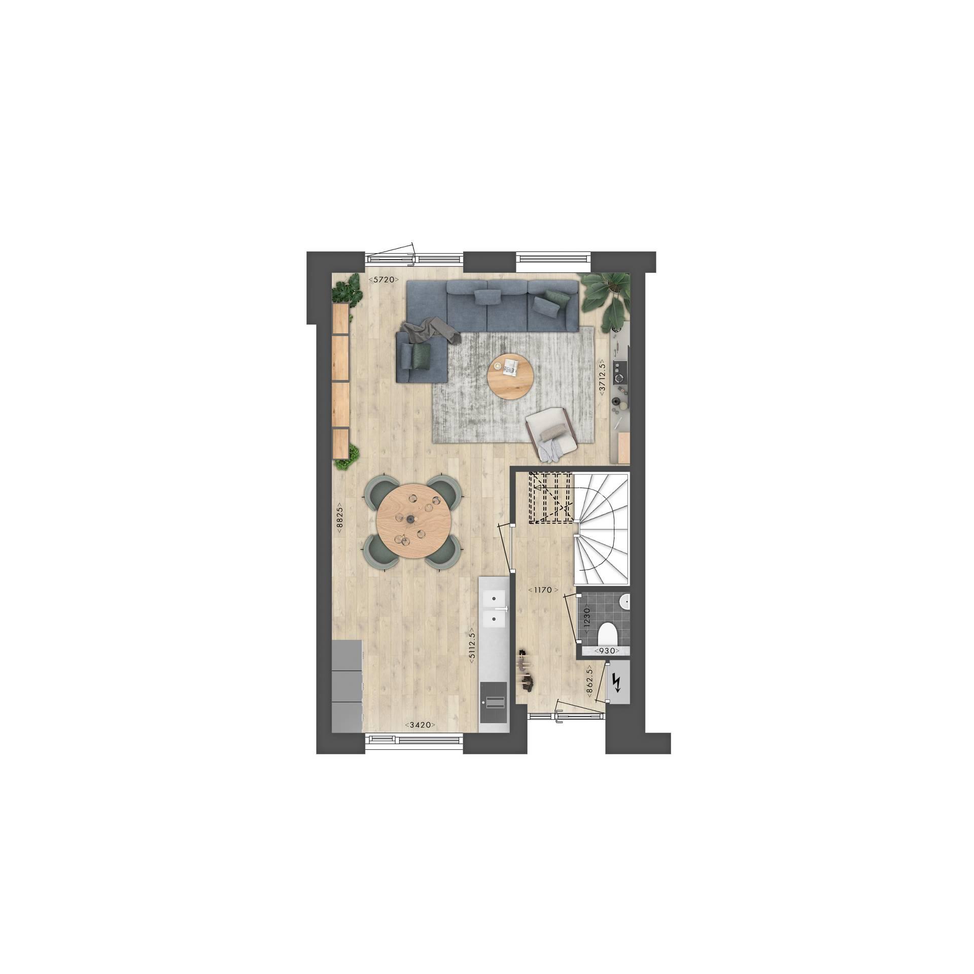 21041_Zeilen_Plattegrond_BN16_BG_v02